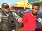"""""""Língua de Vaca"""" rouba moto e sofre tentativa de linchamento em THE"""
