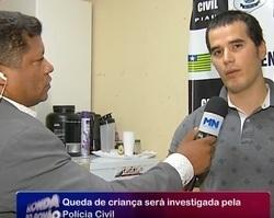 Caso de criança que caiu de prédio será investigado pela Policia Civil