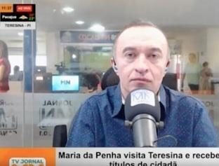 Maria da Penha participa de programação do aniversário de Teresina