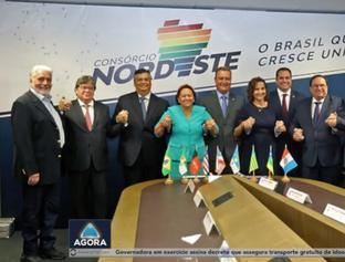 WD Exclusivo: Governador fala sobre a formação do Consórcio Nordeste