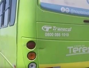 Polícia apreende ônibus coletivo com sinais de identificação alterados