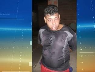 """THE: """"Gordinho"""" é preso em casa acusado de tráfico e com arma de fogo"""