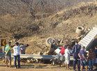 Acidente com caçamba deixa 5 mortos na BR-020 no Sul do Piauí