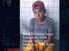 """Sogra de """"Bin Laden"""" é presa em flagrante com drogas em Teresina"""