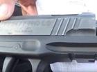 Homem é preso com pistola ponto 40 e afirma que encontrou arma em mato