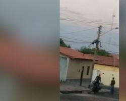 Homem quase morre eletrocutado ao tentar fazer ligação clandestina