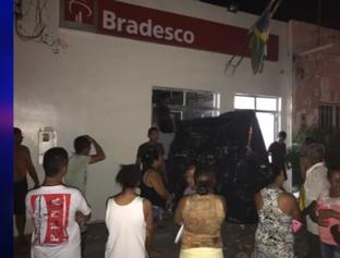 Bandidos explodem 3 agências bancárias em duas cidades do Maranhão