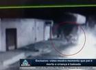 Vídeo mostra momento que pai é morto e criança  é baleada em Teresina