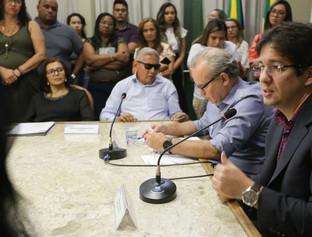 Conade-TE empossa 24 conselheiros em cerimônia na Prefeitura