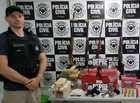 Droga apreendida durante operação em sítio do PI vinha do Mato Grosso