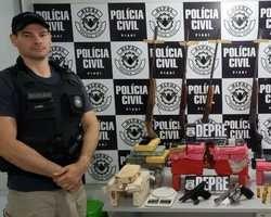 DEPRE apreende drogas, veículos e armas na região de José de Freitas