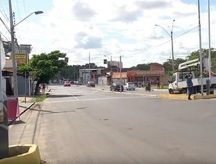 Cancela está sendo instalada na Av. Higino Cunha para evitar acidentes