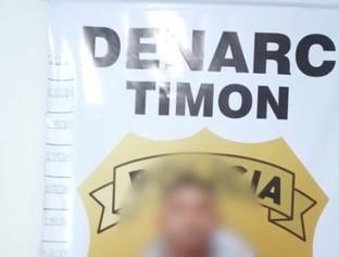 Polícia cumpre mandado e prende homem acusado de tráfico de drogas
