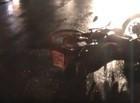 Mototaxista fica gravemente ferido após colisão com veículo em THE