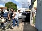 Homem sofre tentativa de linchamento após roubar botijão de gás