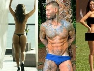 Confira os famosos que já tiveram nudes vazados