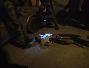 Suspeito de assalto sofre tentativa de linchamento por populares