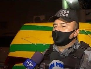 Dupla é presa dentro de casa abandonada suspeita de cometer assaltos