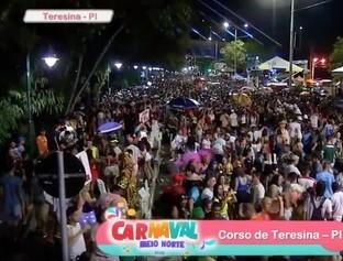 Corso se consolida com novo modelo e movimenta o carnaval em Teresina