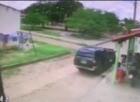 Bandidos fazem arrastão em comércio e roubam caixa de cerveja em THE