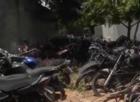 Pátio de delegacia em Parnaíba vira cemitério de veículos apreendidos