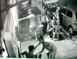 Criminosos armados assaltam grupo que estava em bar na zona Norte