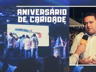 Caridade do Piauí comemora aniversário com movimentação política