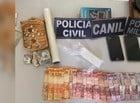 Polícia apreende drogas e captura nacional em Bom Princípio do Piauí