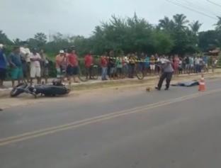Idoso morre após ser atropelado na avenida de Parnaíba