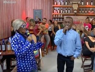 """Nando, """"A voz que emociona"""", canta ao vivo no programa Butiquim"""