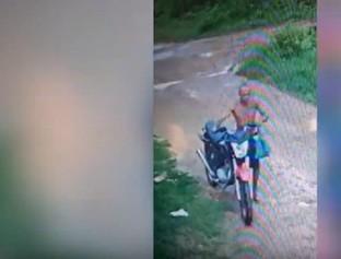 Bandido furta moto roubada de outro criminoso e polícia recupera