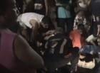 Colisão entre moto e táxi deixa três pessoas feridas em Teresina