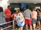 Filas grandes em bancos de Parnaíba e prefeito faz pronunciamento