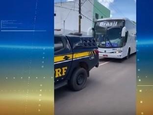 Polícia inicia abordagens a ônibus interestaduais no Piauí