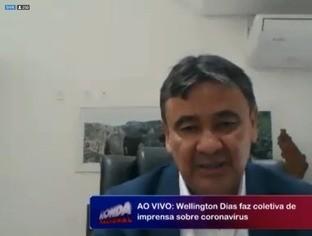 Wellington Dias diz que vai reavaliar decreto na próxima segunda (30)