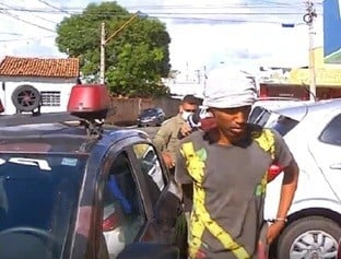 Homem é preso quando tentava arrombar uma residência em Teresina