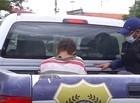 Guarda Municipal prende homem com arma branca e celulares em Teresina