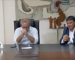 Wellington Dias e Firmino Filho definem estratégias contra a Covid-19