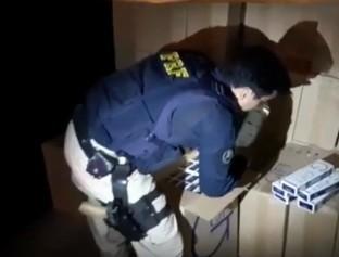 Polícia realiza a maior apreensão do ano de cigarros contrabandeados