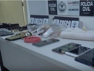 Polícia prende quadrilha que se preparava para assaltar bancos no PI