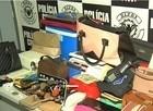 Polícia encontra produtos roubados na casa de líder de quadrilha