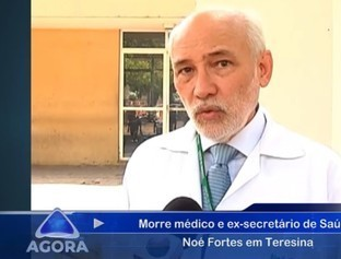 Jornal Agora faz homenagem ao ex-secretário de Saúde Noé Fortes em THE