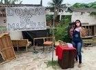 Ronda Nacional: Estudante doa máscaras em bairro humilde de Natal