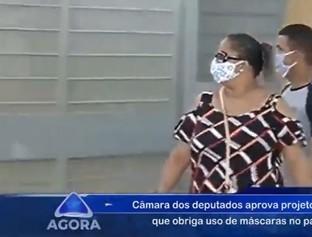 Câmara aprova projeto que obriga uso de máscaras em locais públicos