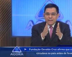 Fundação Osvaldo Cruz diz que covid começou a circular em Janeiro