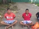 Polícia prende trio e apreende drogas e motocicleta em Teresina