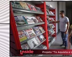 """Projeto """"Te aquieta e lê"""" distribui livros gratuitamente no Piauí"""