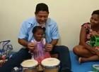 Projeto recupera crianças com deficiência através da musicoterapia