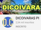 ACOMPANHE & SE INSCREVA NO CANAL DICOIVARAS