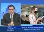 Ministra Damares Alves fala sobre medidas contra a violência doméstica